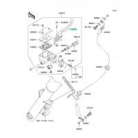 MANETA DERECHA KAWASAKI VN1500 CLASSIC 2000-2004 / VN1500 CLASSIC TOURER 1998-2001 / ...