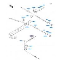 RECAMBIO DE CABLE ACELERADOR KAWASAKI STX-12F 2003-2007 / STX-15F 2004- / ...