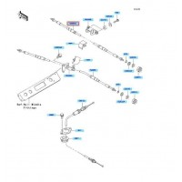 RECAMBIO DE CABLE MARCHA ATRAS KAWASAKI STX-12F 2003-2007 / STX-15F 2004- / ...