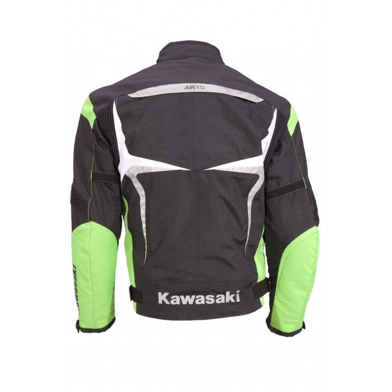 Chaqueta cuero kawasaki