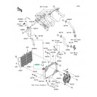 TAPON DE RADIADOR KAWASAKI KFX450R / MULE TERYX