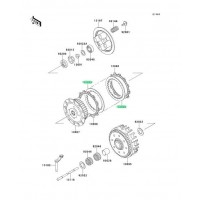 DISCO DE EMBRAGUE KAWASAKI KX125 1993-2008 / KX250F 2004-2007 / ...